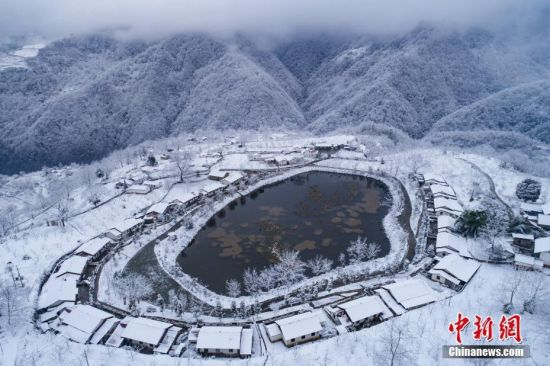 2018初雪最美的雪景都在这里