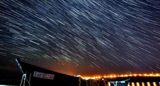 在俄罗斯远东地区邂逅天龙座流星雨