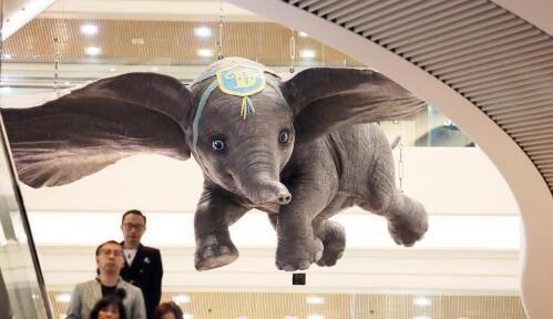 《小飞象》展览成为香港复活节假期好去处