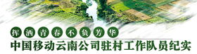 """""""中国移动云南公司驻村工作队员纪实"""