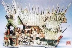 古滇国干栏式铜房模 图源:云南日报