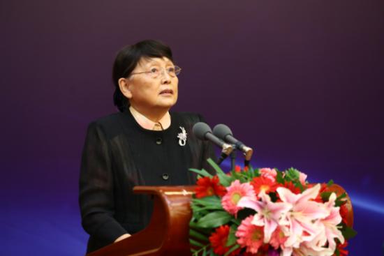 十一届全国政协副主席张梅颖发表重要讲话