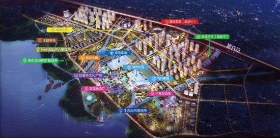 图为昆明万达文化旅游城规划意境图。