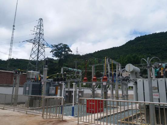 改造后的变电站