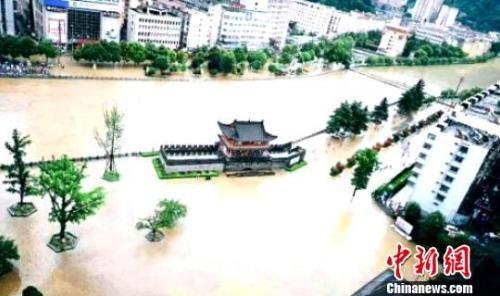陕西受灾情况。陕西省民政厅供图