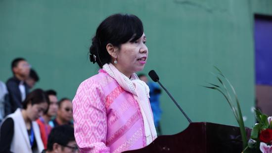 泰国驻昆总领事馆总领事妮�q瓦娣•玛尼琨致辞
