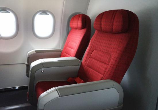 红航第十一架飞机头等舱座椅