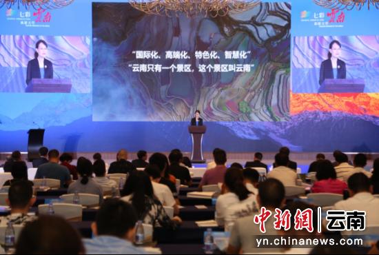 云南文化和旅游暨大滇西旅游环线推介会现场