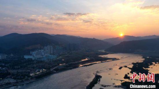 图为澜沧江一景。 云南省委宣传部供图