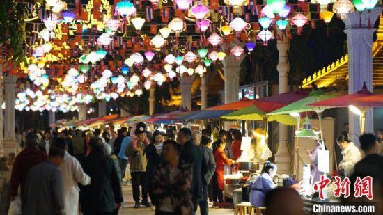 图为西双版纳夜景。 云南省委宣传部供图