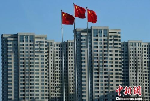 图为福州一处刚建设完工的房地产楼盘。(资料图片) 中新社记者 张斌 摄